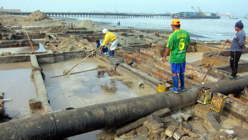 Производство рыбьего жира в Перу